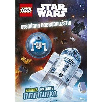 LEGO Star Wars Vesmírná dobrodružství: Komiks, aktivity, minifigurka (978-80-251-4671-2)