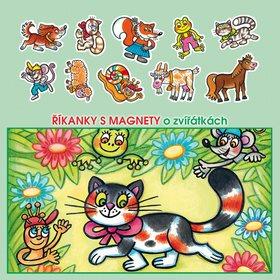 Říkanky s magnety o zvířátkách (978-80-252-3689-5)
