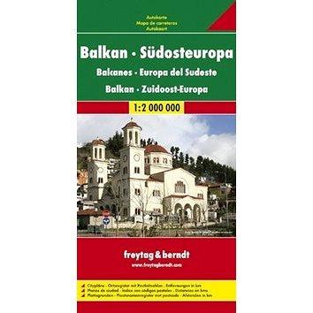 Automapa Balkán-JV Evropa 1:2 000 000: Südosteuropa (9783707907520)