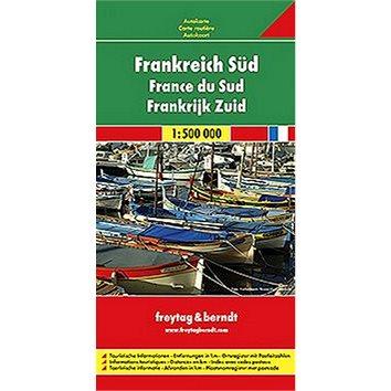 Automapa Francie jih 1:500 000 (9783707905816)