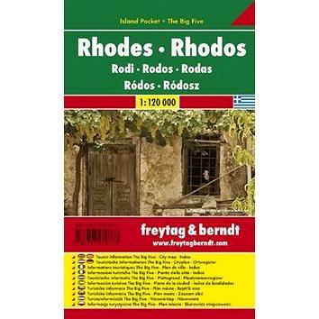 Automapa Rhodos 1:120 000: kapesní lamino (9783707910773)