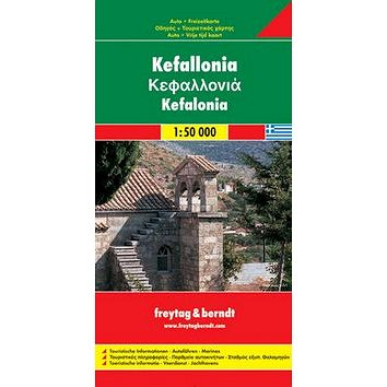 Automapa Kefalonia 1: 50 000 (9783707900156)