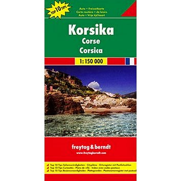 Automapa Korsika 1:150 000 (9783707905823)