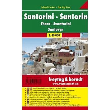Automapa Santorini 1:40 000: kapesní lamino (9783707910780)