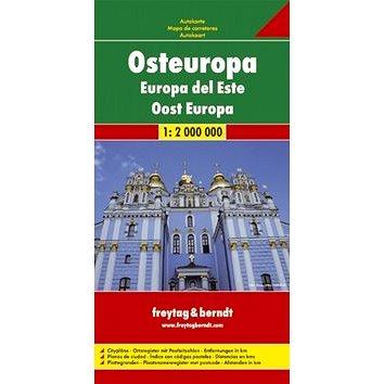 Automapa Východní Evropa 1: 2 000 000 (9783707907537)