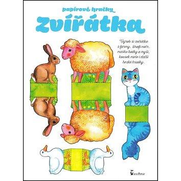 Papírové hračky Zvířátka: Vyrob si zvířátka z farmy, žirafí metr, masku kočky a myši, kousek moře... (978-80-7292-326-7)