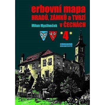 Erbovní mapa hradů, zámků a tvrzí v Čechách 4 (978-80-86183-71-8)