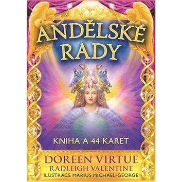 Andělské rady: Kniha a 44 karet (978-80-7370-409-4)