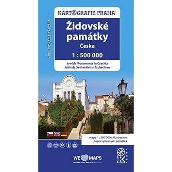 Židovské památky Česka: 1:500 000 (978-80-7393-391-3)