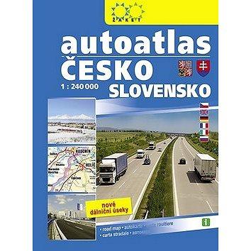 Autoatlas Česko Slovensko 1:240 000 (978-80-7233-428-5)
