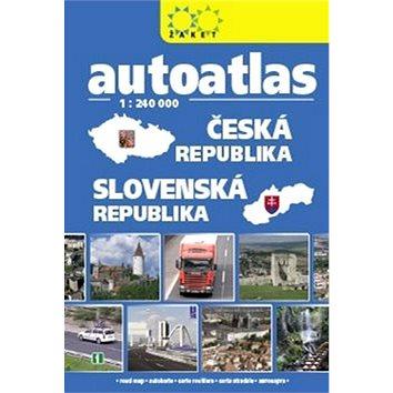 Autoatlas Česká republika Slovenská republika 1:240 000 (978-80-7233-429-2)