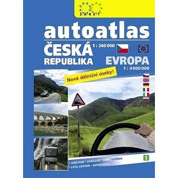 Autoatlas ČR 1:240 000 + Evropa 1:4 000 000 (978-80-7233-421-6)
