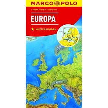 Evropa Europa 1:2 500 000 (9783829738262)