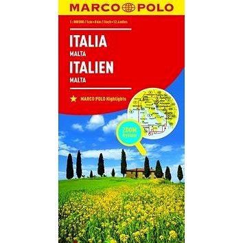 Itálie Italia Italien 1:800 000 (9783829738330)