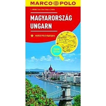 Maďarsko Magyarország Ungarn 1:800 000 (9783829738491)