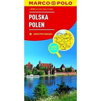 Polsko Polska Polen 1:800 000 (9783829738385)