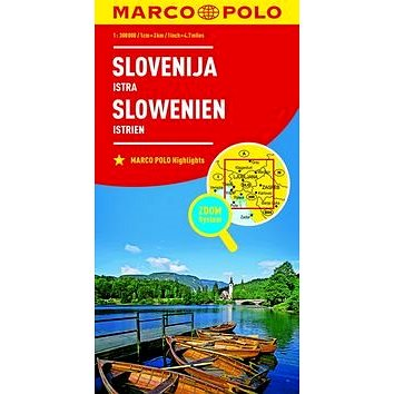 Slovinsko, Istrie 1:800 000: Slovenija Istra Slowenien Istrien (9783829738446)