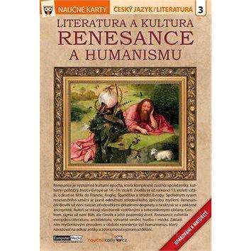 Naučné karty Literatura a kultura renesance a humanismu: Český jazyk/ literatura 3 (978-80-7402-264-7)