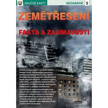 Naučné karty Zemětřesení: Fakta a zajímavosti (978-80-7402-267-8)