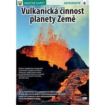 Naučné karty Vulkanická činnost planety Země (978-80-7402-266-1)