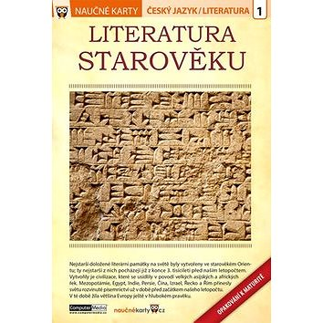 Naučné karty Literatura starověku: Český jazyk/ Literatura 1 (978-80-7402-272-2)