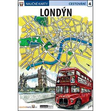 Naučné karty Londýn: Cestování 4 (978-80-7402-262-3)
