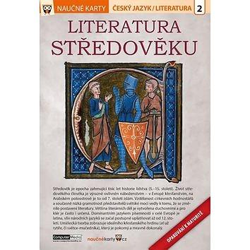 Naučné karty Literatura středověku: Českýjazak/ Literatura 2 (978-80-7402-275-3)