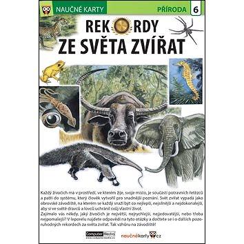 Naučné karty Rekordy ze světa zvířat (978-80-7402-276-0)