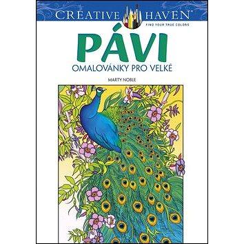 Pávi omalovánky pro velké: Creative Haven (8594050422285)