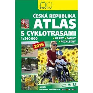 Česká republika Atlas s cyklotrasami: 1:240 000 (978-80-7233-423-0)