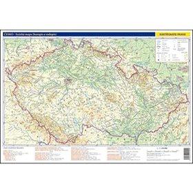 Česko - fyzická a administrativní mapa: 1:1 150 000 (8594033222000)