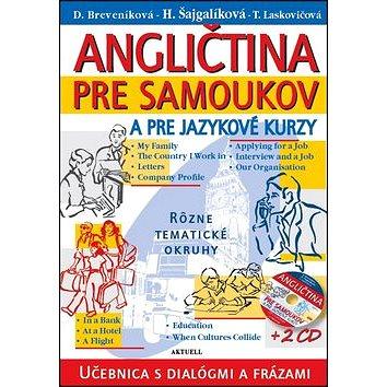 Angličtina pre samoukov a pre jazykové kurzy + 2 CD (978-80-8172-015-4)