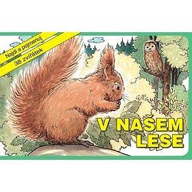 V našem lese: Najdi a pojmenuj 38 zvířátek (978-80-906387-1-6)