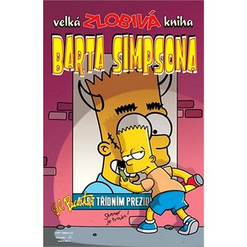 Velká zlobivá kniha Barta Simpsona (978-80-7449-395-9)