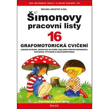 Šimonovy pracovní listy 16: Grafomotorická cvičení (978-80-262-0909-6)