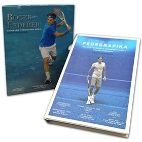 Roger Federer Biografie tenisového génia (978-80-89311-77-4)