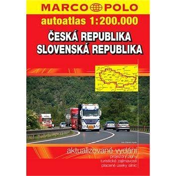Autoatlas Česká republika Slovenská republika 1:200 000 (8595133203135)