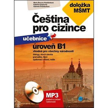 Čeština pro cizince úroveň B1: učebnice + cvičebnice, doložka MŠMT + CD (978-80-266-1048-9)