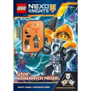 LEGO NEXO KNIGHTS Útok kamenných příšer!: Aktivity, komiks, dobrodružný příběh (978-80-251-4855-6)