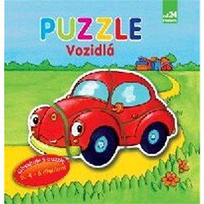 Vozidlá Puzzle (978-80-567-0033-4)