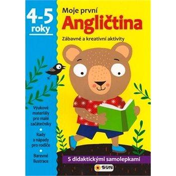 Moje první Angličtina 4-5 roky: Zábavné a kreativní úkoly a aktivity (978-80-7371-043-9)