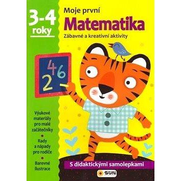 Moje první Matematika 3-4 roky: Zábavné a kreativní úkoly a aktivity (978-80-7371-046-0)