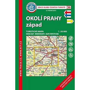 KČT 36 Okolí Prahy západ (978-80-7324-479-8)