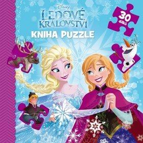 Ledové království Kniha puzzle 30 dílků (978-80-252-3857-8)
