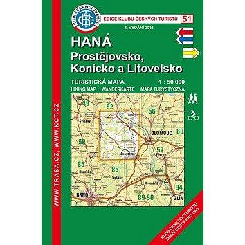 KČT 51 Haná, Prostějovsko (978-80-7324-467-5)
