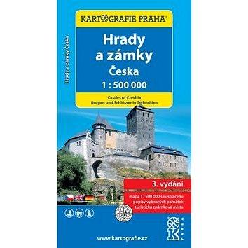 Hrady a zámky Česka 1:500 000: 1:500 000 (978-80-7393-430-9)