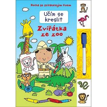 Učím se kreslit Zvířátka ze ZOO: Kniha se stíratelným fixem (978-80-256-2065-6)