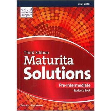 Maturita Solutions 3rd Edition Pre-Intermediate Students Book: Czech Edition (9780194510578)