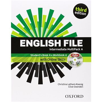 English File Third Edition Intermediate Multipack A with Online Skills (9780194597111)