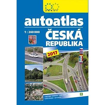 Autoatlas ČR 1:240 000 A5 2017 (978-80-7233-447-6)